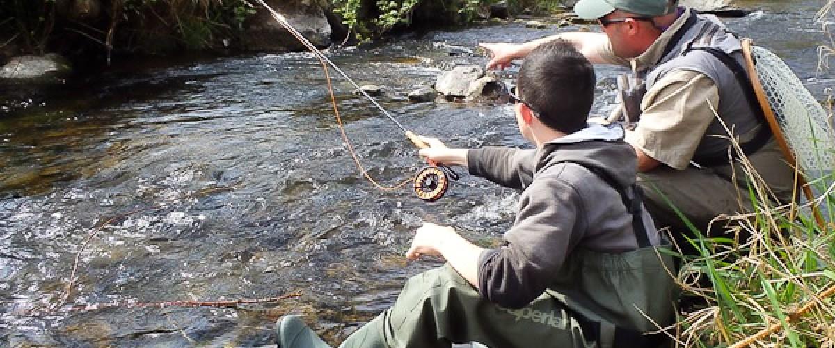 Journée de pêche sportive avec un guide dans le Haut-Rhin
