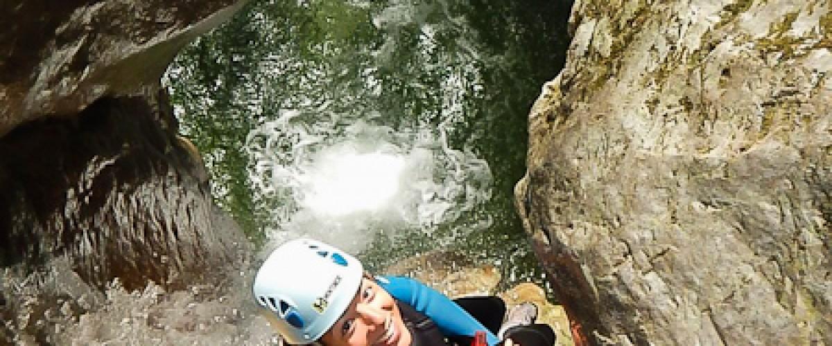 Sport et sensations au canyon de Montmin !