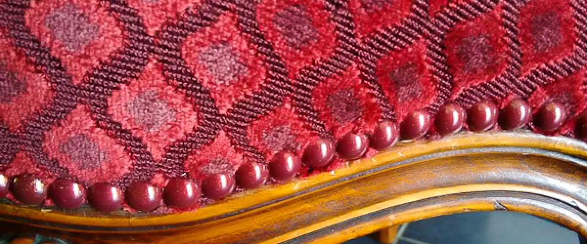 Stage de tapisserie d'ameublement traditionnelle