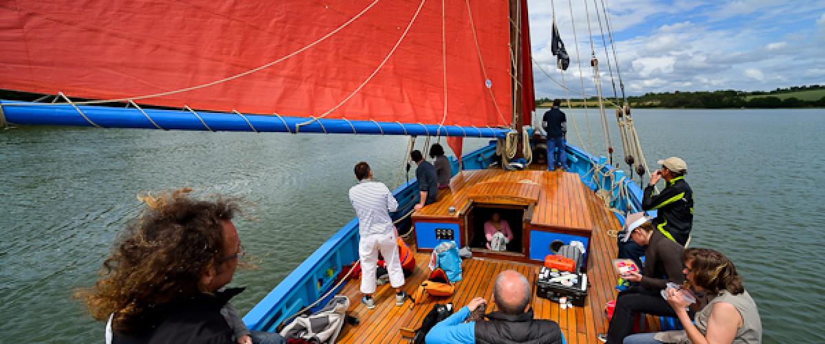 Initiation à la voile traditionnelle dans le Golfe du Morbihan