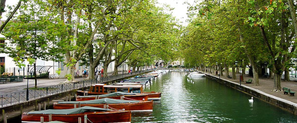 Annecy et l'eau : Visite de la Venise des Alpes