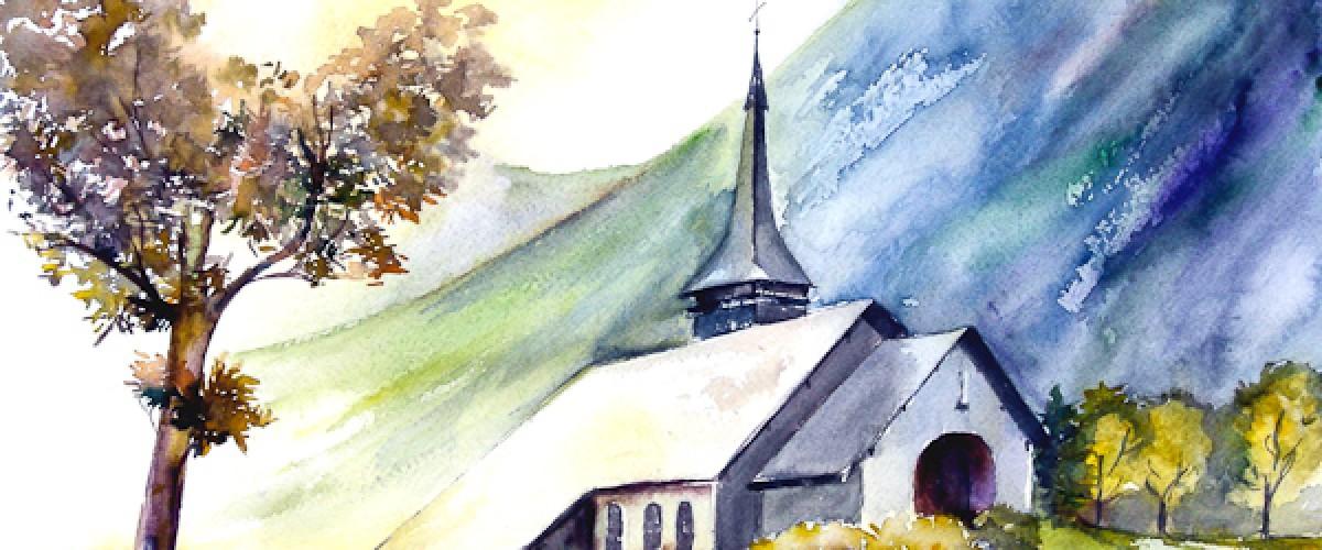 Journée d'initiation à l'aquarelle à Chamonix-Mont-Blanc !