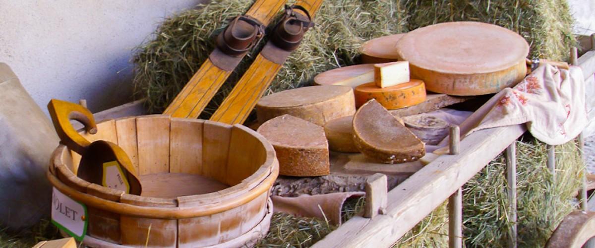 Visite d'une ferme et dégustation de fromages à Abondance