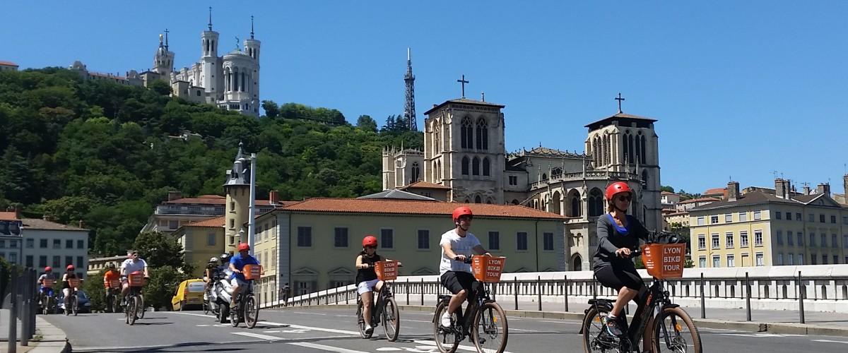 Visite guidée de Lyon à vélo électrique
