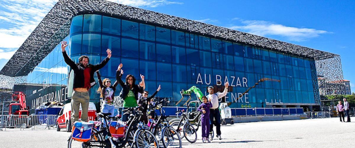 Grand tour de Marseille en vélo électrique (tour du Fada)
