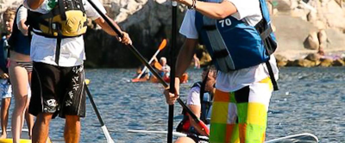 Découverte et initiation au stand-up paddle à Nice
