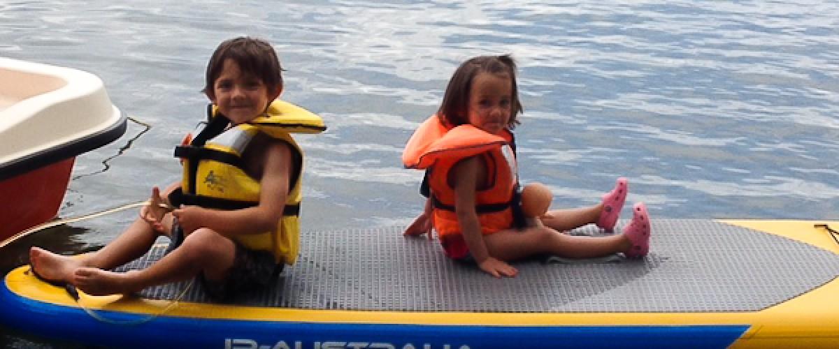 À la découverte du Stand up Paddle sur le Lac Léman