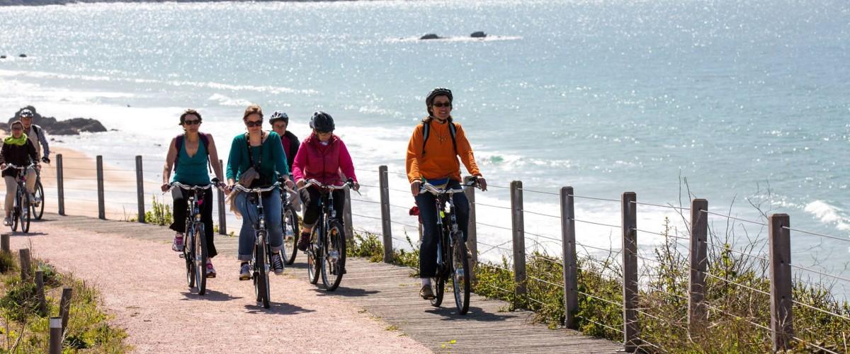 Balade guidée en vélo électrique au Cap d'Erquy