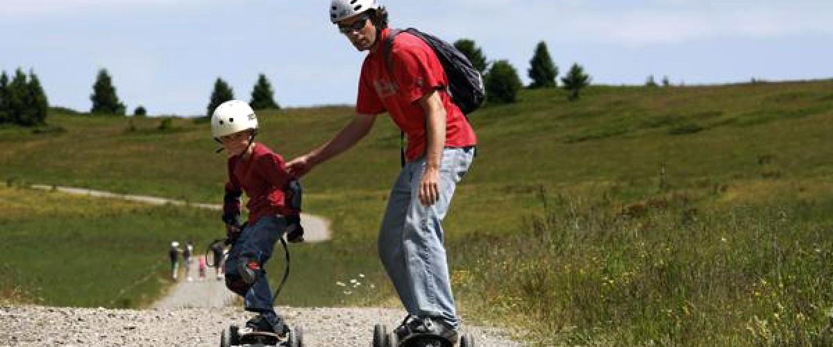 Initiation au Mountainboard : les Vosges version insolite