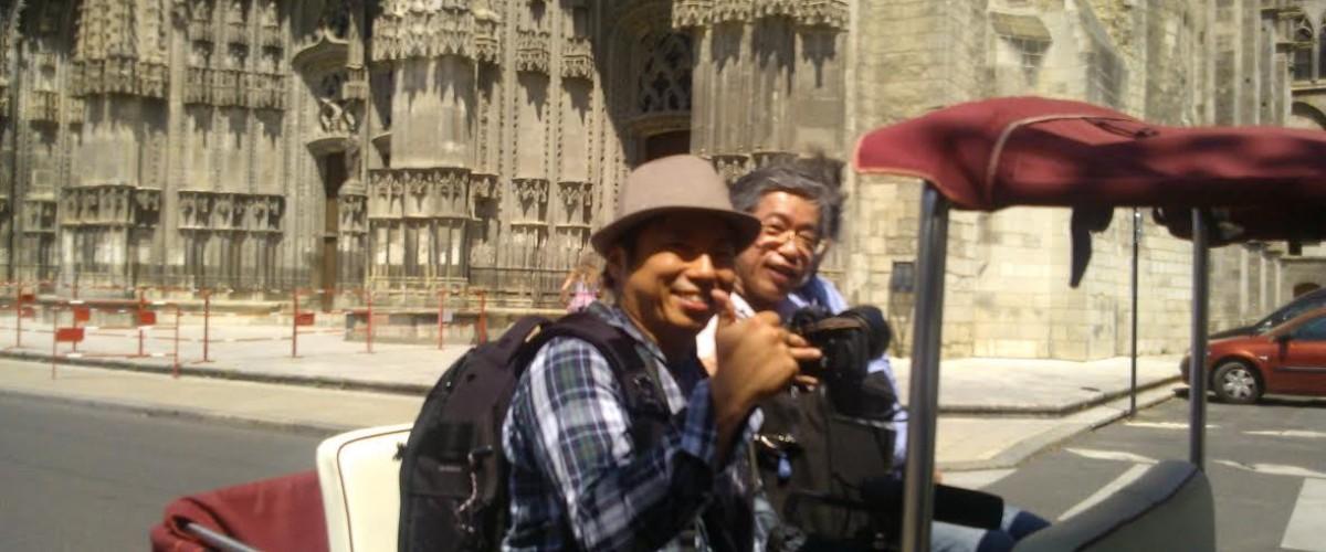 Visite de Tours en triporteur lors d'une balade personnalisée