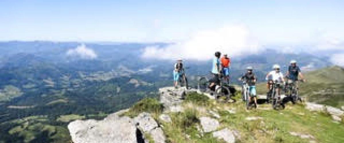 Rando en VTT électrique dans les Pyrénées Atlantiques