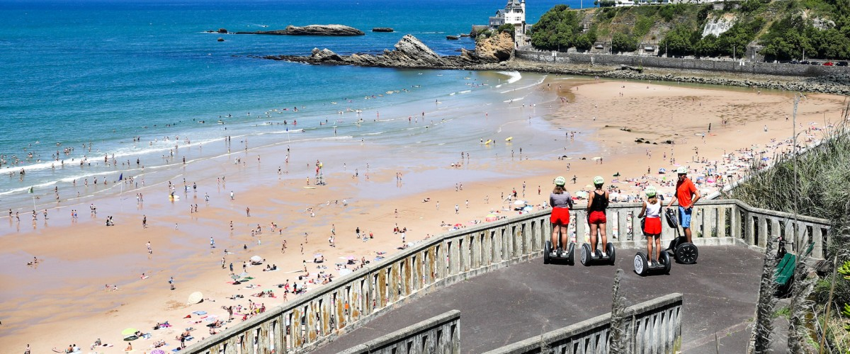 Balade ludique de Biarritz en Gyropode Segway