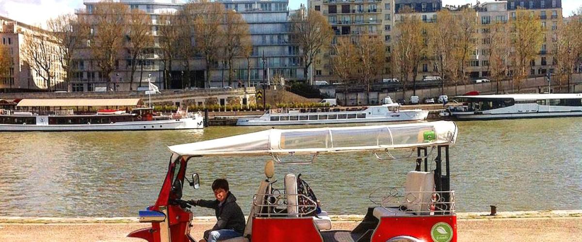 Découverte des incontournables de Paris en triporteur