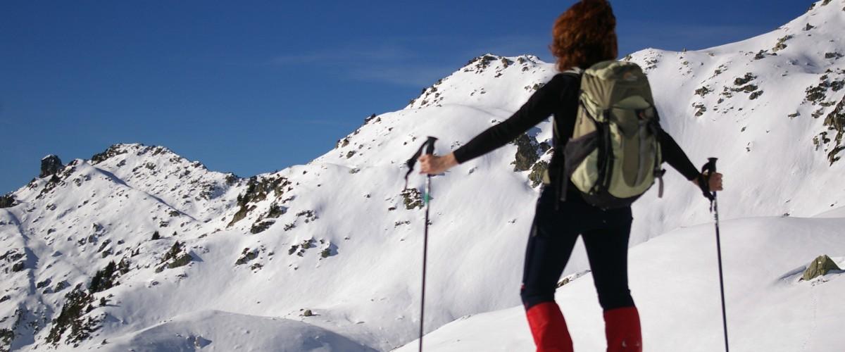 Randonnée en raquettes à neige en Maurienne