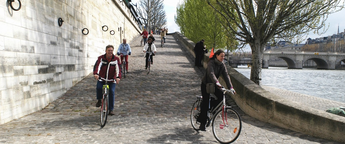 Visite guidée à vélo du centre historique de Paris