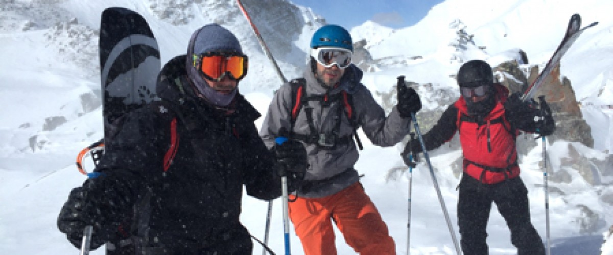 Journée de randonnée en splitboard ou ski  les Hautes Alpes