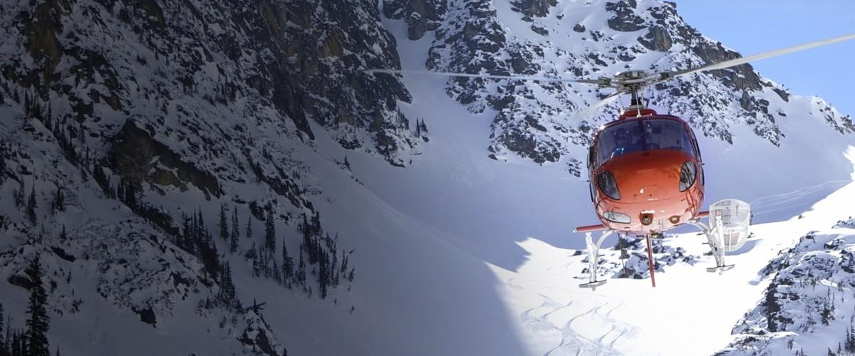 Sortie Héliski dans les Hautes Alpes