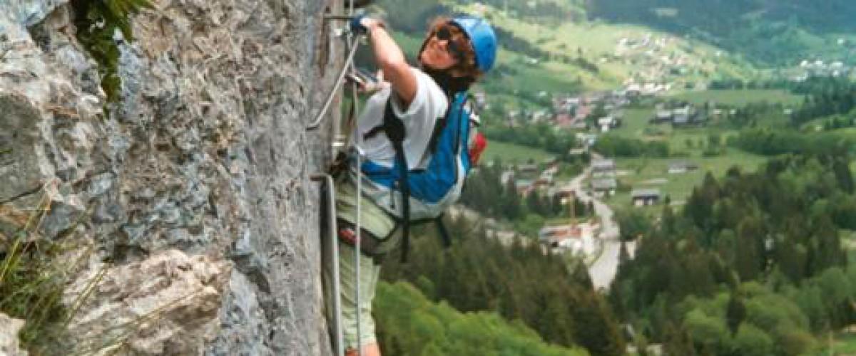 Via Ferrata dans la Vallée d'Abondance en Haute-Savoie