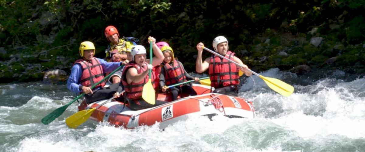Sortie rafting sur les eaux vives de Haute Savoie