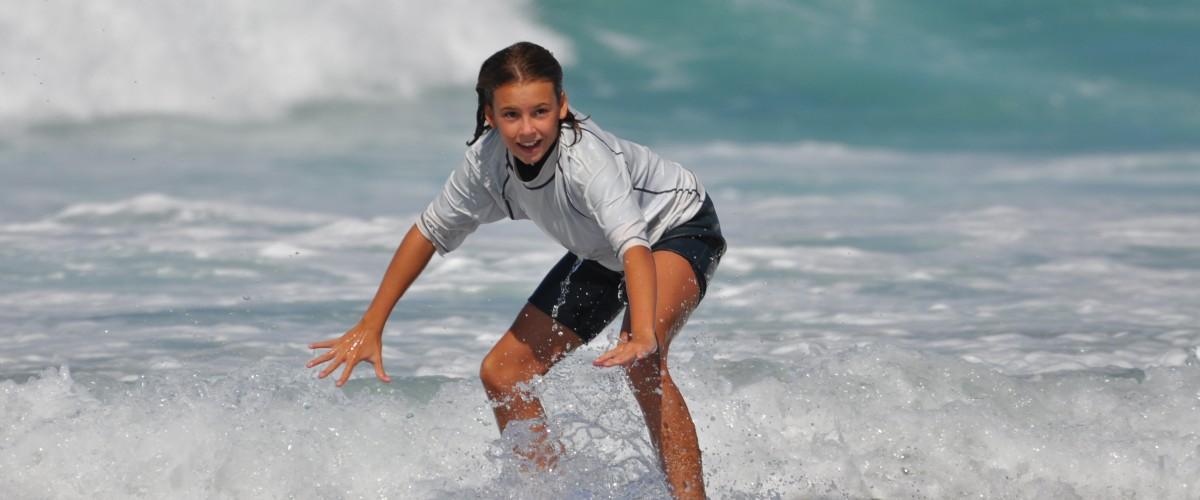 Cours et stage de surf dans les Landes