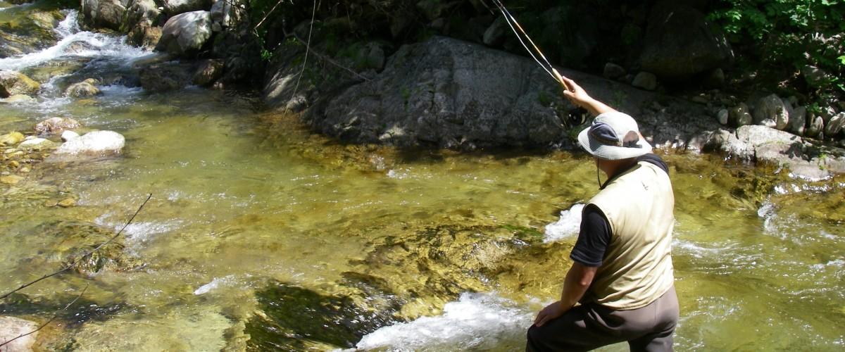 Stage de pêche à la mouche en Ardèche, pour tous niveaux !