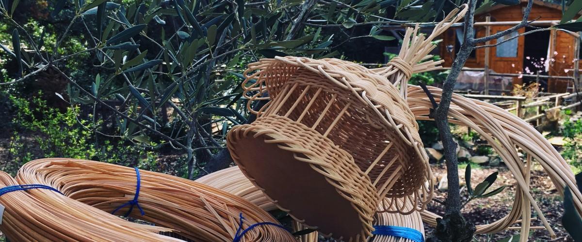 Stage découverte de la Vannerie : la mangeoire à oiseaux en rotin