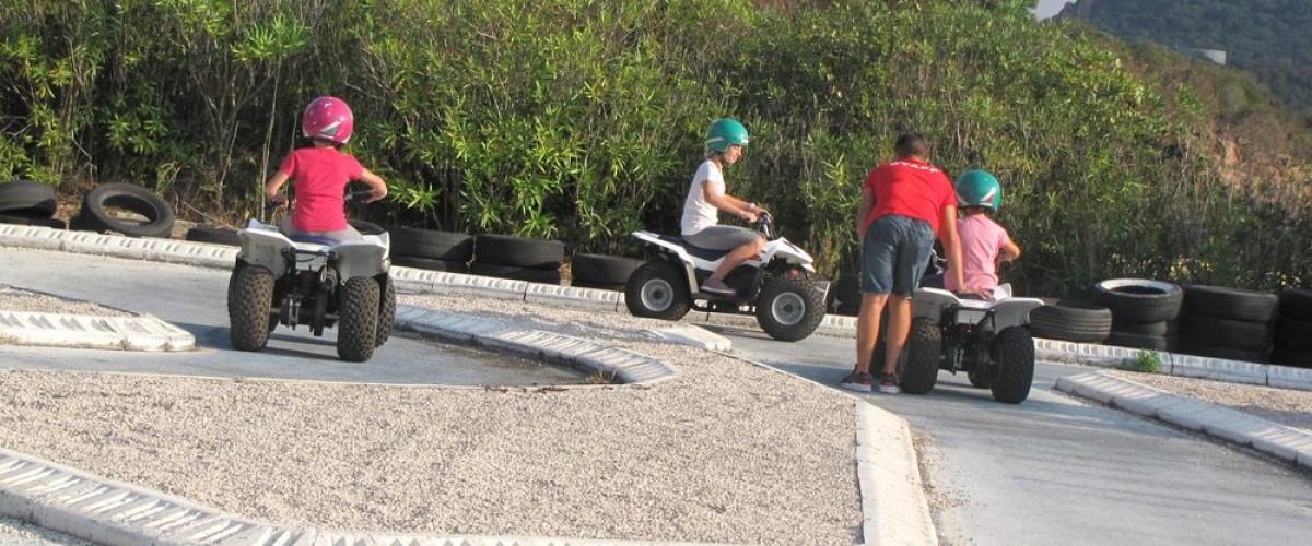 Mini-quads et voiturettes pour enfants