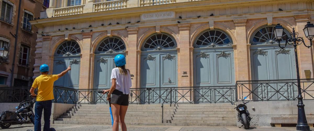 Visite guidée à gyropode segway au coeur de Lyon