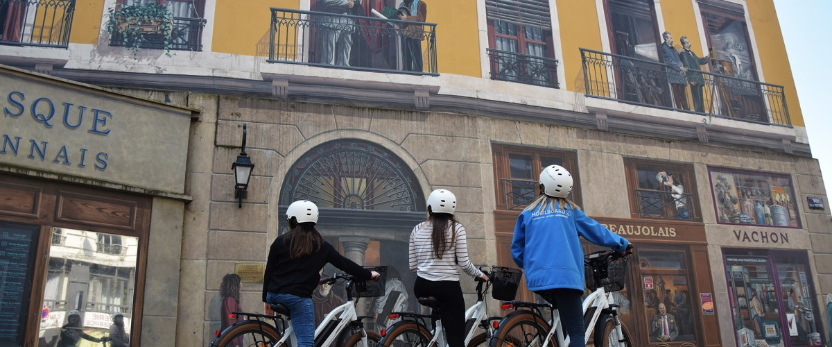 Visite guidée express de Lyon à vélo électrique
