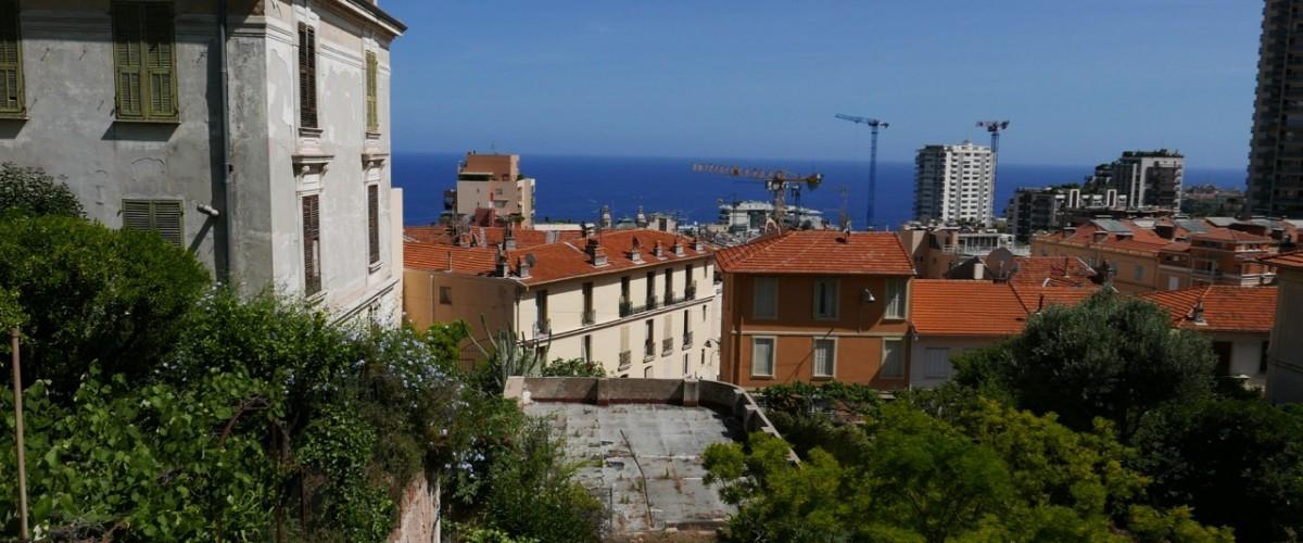 Beausoleil, le matin, (frontalier avec Monaco) repas délices, Villa Juturne