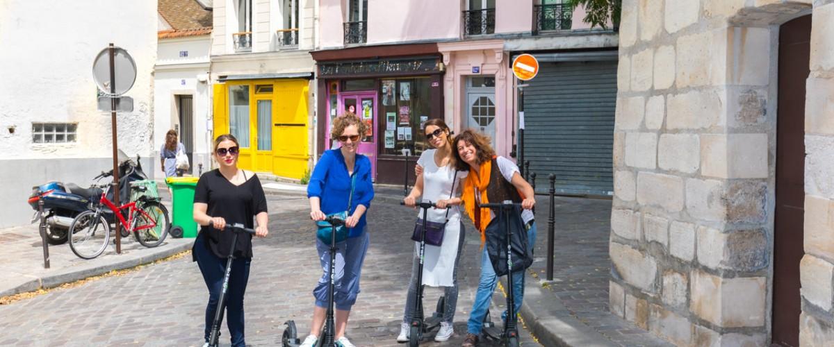 Découvrir la campagne parisienne en trottinette électrique