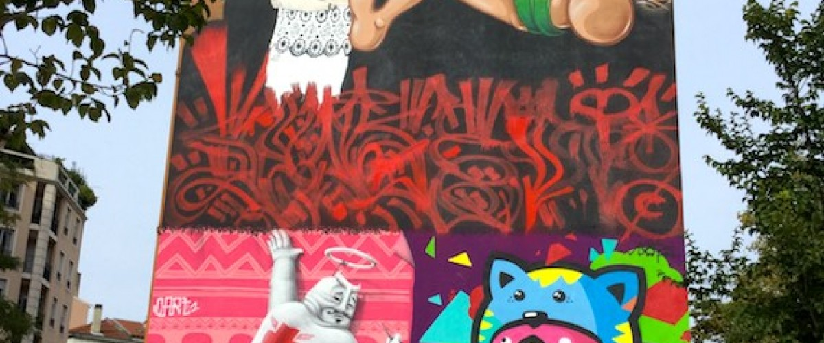 Visite Street Art sur les pentes de la Croix-Rousse