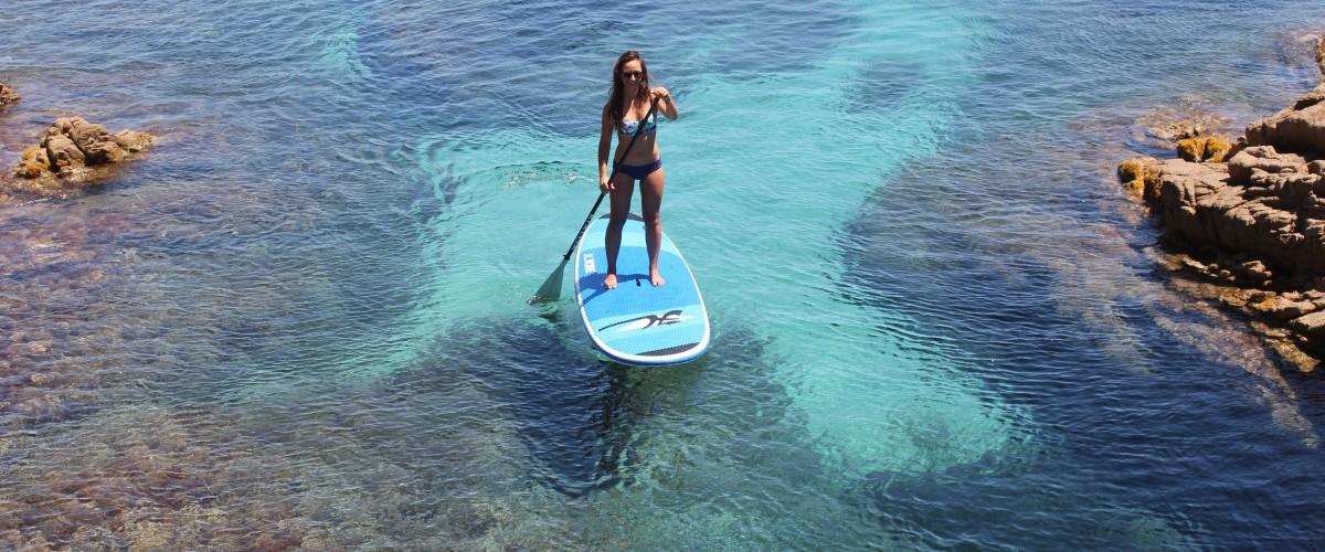Initiation au paddle dans le Golfe de Saint-Tropez