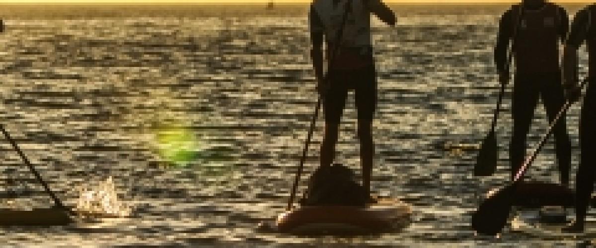 Découverte du stand up paddle en Bretagne