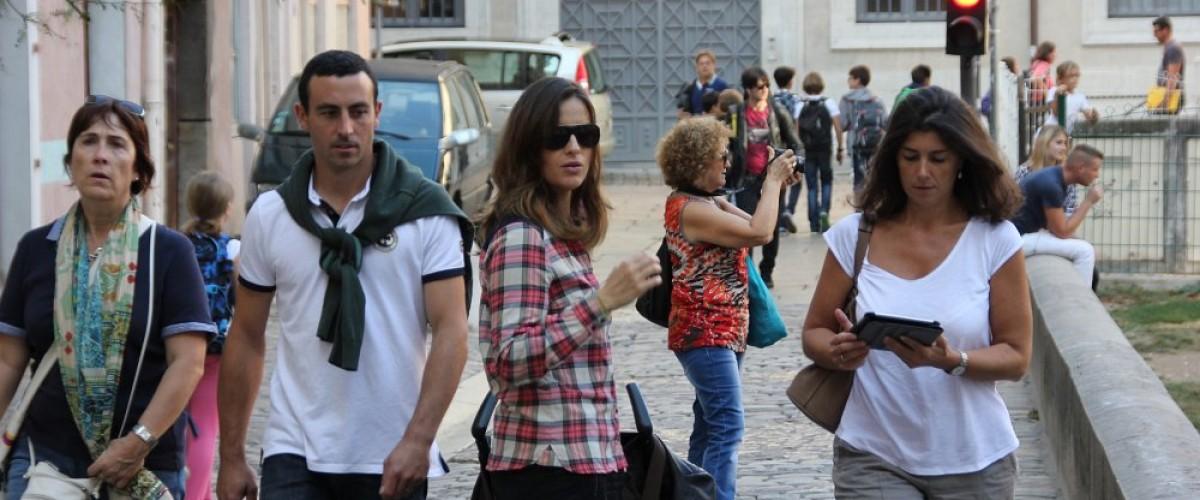 Jeu de piste GPS dans les rues de Lille