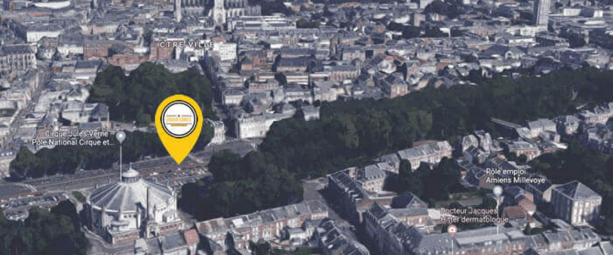 Rallye interactif avec smartphone à Amiens