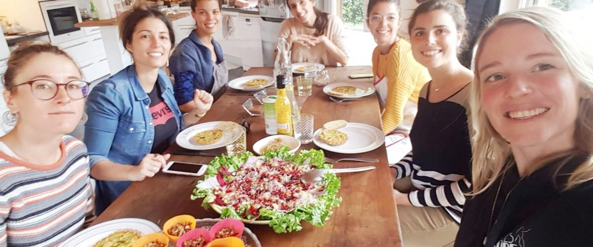 Cours de cuisine bio sur la côte landaise