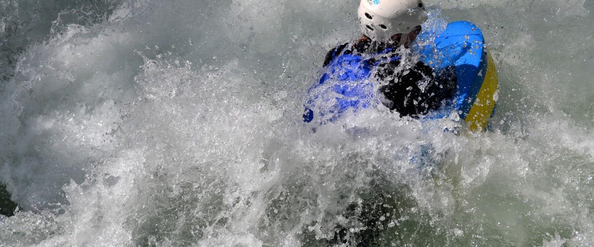 Descente en hydrospeed dans les Gorges d'Avoriaz