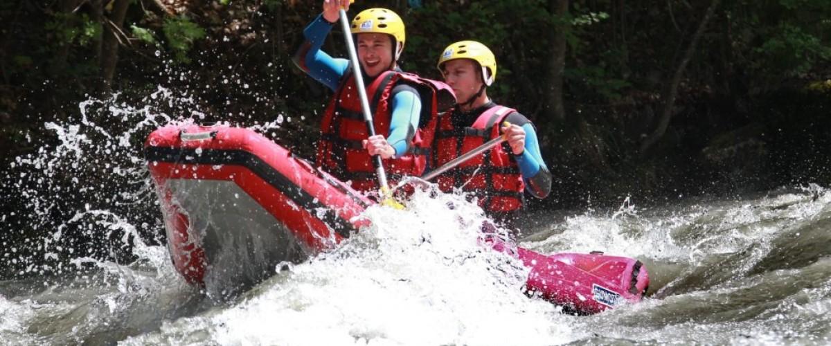 Cano-raft sur l'Isère