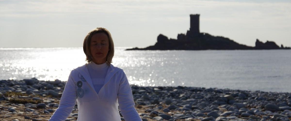 Séance d'initiation à la méditation au bord de l'eau