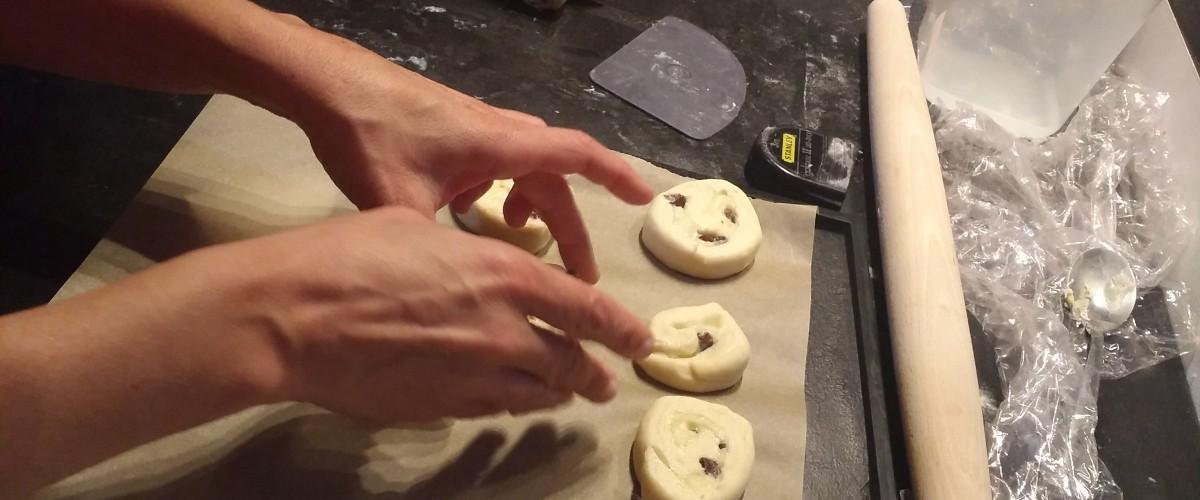 Atelier de fabrication de croissants à Rouen