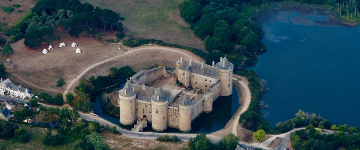 Vol touristique à la découverte du Pays de la Loire