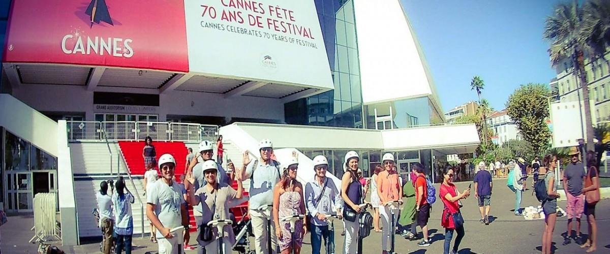 Découverte de Cannes autrement en gyropode