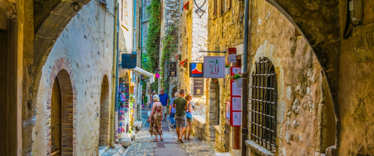 Visite de l'arrière-pays de la Côte d'Azur