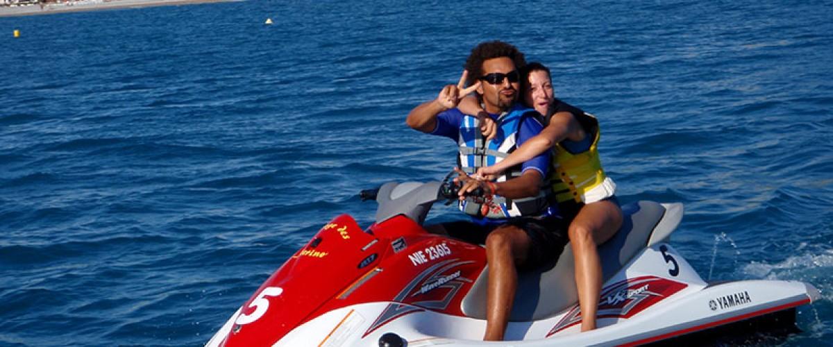 Randonnée en Jet ski à Villeneuve-Loubet, tout près d'Antibes
