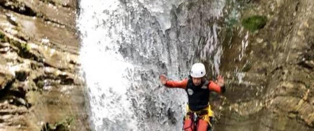 Initiation canyoning sur Morzine Avoriaz
