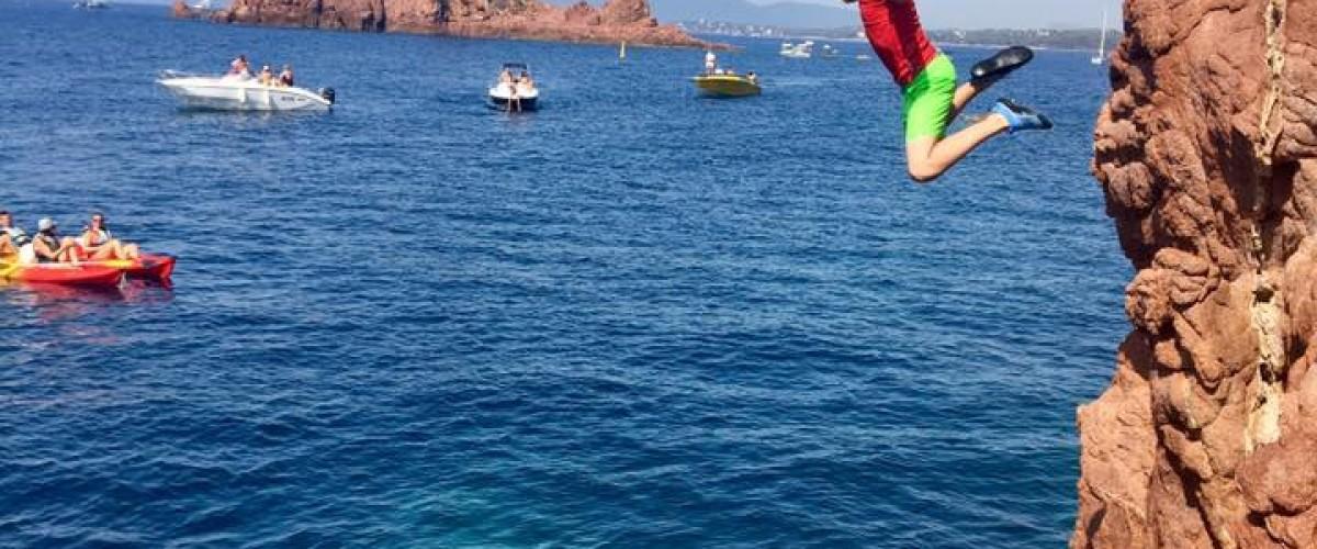 Randonnée aquatique insolite sur le littoral de Saint-Raphaël