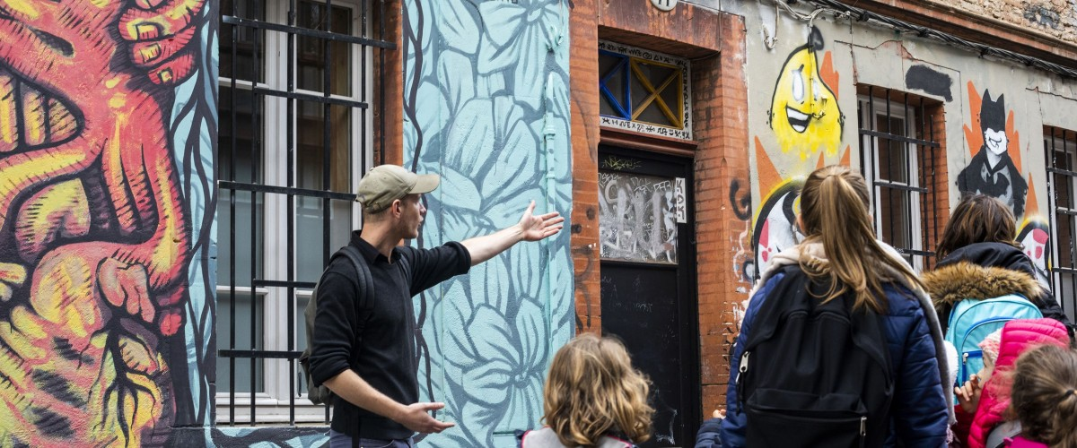 Découverte du street-art à Toulouse