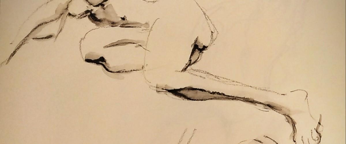 Cours de dessin avec modèle vivant à Paris