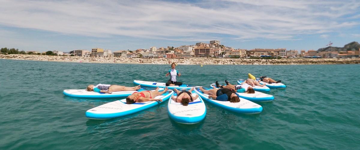 Découverte du Pilates Paddle à Marseille